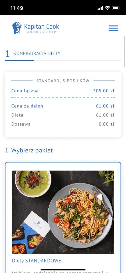 Konfiguracja diety